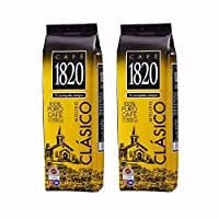 Cafe 1820 Ground ? Costa Rican Gourmet Coffee ? 17.5oz (Pack of 2)