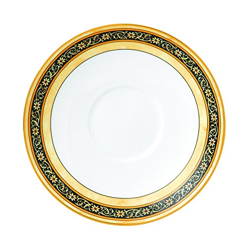 Wedgwood India One Tea Saucer, White/Multicolor