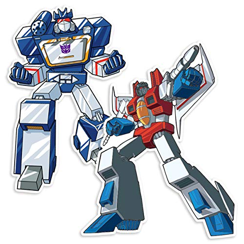 Popfunk Transformers Soundwave and Starscream Collectible Stickers