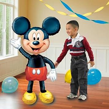 Disney  Minnie Mickey Mouse Airwalker Foil Helium Balloon Life Size 52inch
