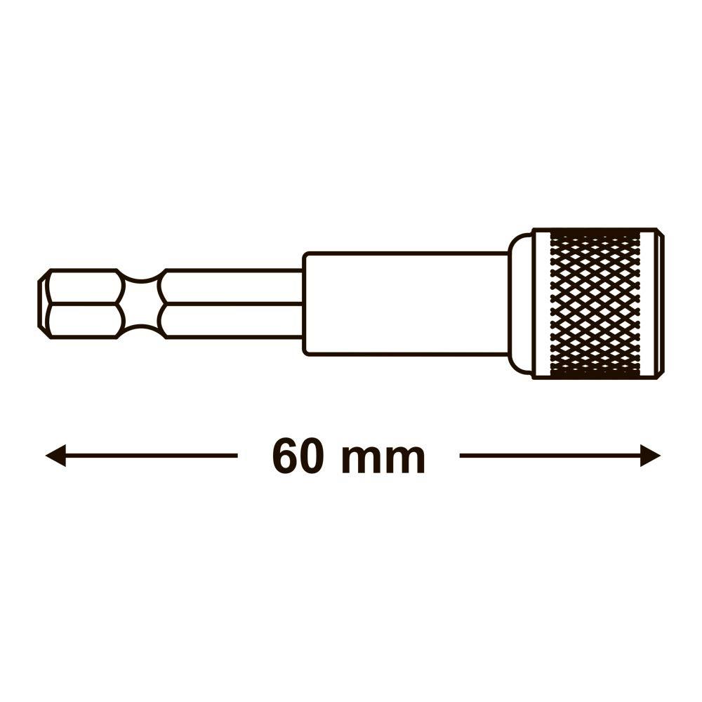 Magnet-Bithalter /'/'Easy 60/'/' für 1//4/'/' Bits 60mm lang