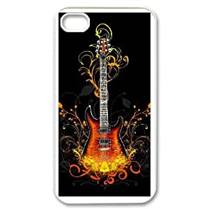 Musical Instruments Guitar For iPhone 4,4S Custom Cell Phone Case Cover 91II655630