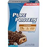 Pure Protein High Protein Bars, S'mores, 1.76 Ounce, 6 Count