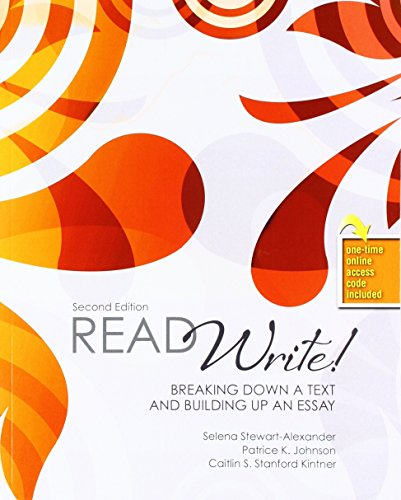Read Write! Breaking Down a Text and Building Up an Essay