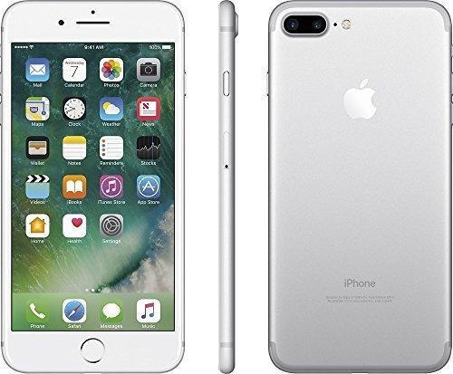 Apple iPhone 7 Plus, GSM Unlocked, 128GB - Silver (Certified Refurbished)