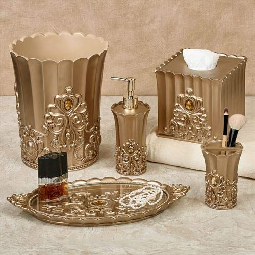 Touch of Class Opulence Lotion Soap Dispenser Champagne Gold