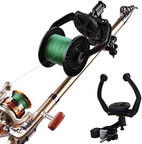 OROOTL Fishing Line Spooler System - Adjustable Spinning Reel Spooler Portable Fishing Line Winder Machine Baitcaster Spooling Station