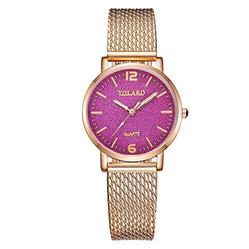 (Casual Thin Wrist Watches for Women,YOLAKO Women's Casual Quartz Plastic Leather Band Starry Sky Analog Wrist Watch,Men's Smartwatches)