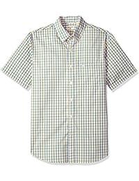 e3213b7a32b Men s Short Sleeve Button Down Comfort Flex Shirt