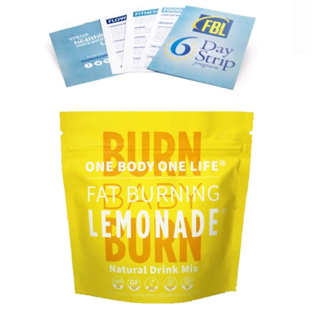 Fat Burning Lemonade® Celebrity Endorsed Weight Loss - (All Natural) Burn Calories and Lose Weight by One Body One Life