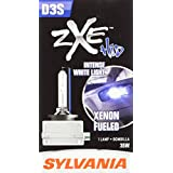 SYLVANIA D3S zXe High Intensity Discharge HID Headlight Bulb, (Contains 1 Bulb)