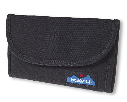 Fold Billfold (KAVU Big Spender Wallet, Black, One Size)