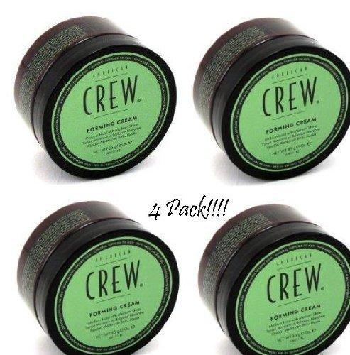 American Crew Forming Creme 4 Pack - Medium Hold 3ozs each (American Forming Crew Cream)