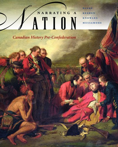 Narrating a Nation: Canadian History Pre-Confederation