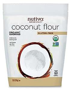 Nutiva Organic Coconut Flour, 3 Pound