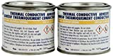 MG Chemicals Thermal Conductive Adhesive, Slow Cure, 452 g, 2-Part Epoxy Kit