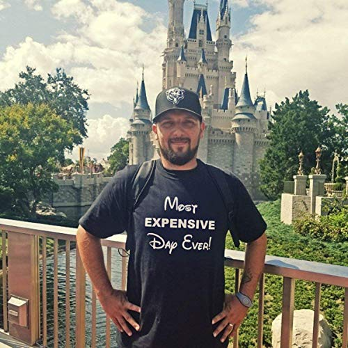fce54ed3d Most Expensive Day Ever, Disney Best Day Ever, Disney, men's shirt, Disney