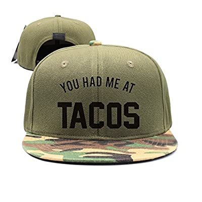 jia3261 Kid's You Had Me at Tacos Wordmark Logo Snapback Cap Hat from jia3261