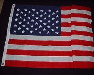 3'x 5' bandera de algodón americano