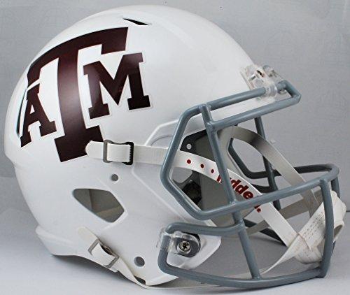 NCAA Texas A&M Aggies Full Size Speed Replica Helmet, Red/
