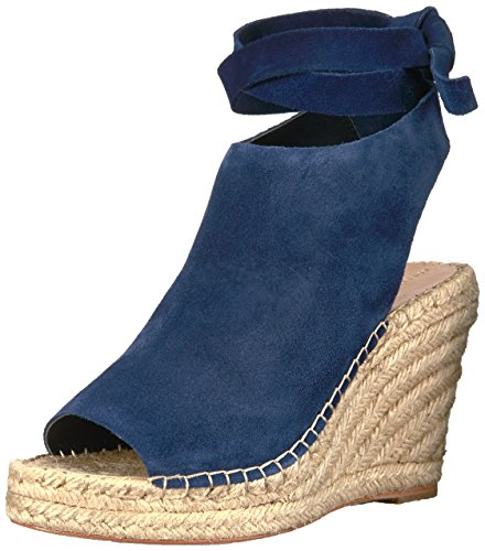 Eclipsar suede Espadrille Mujer Randall Loeffler Ankle Lyra Tie Wedge ApH8q