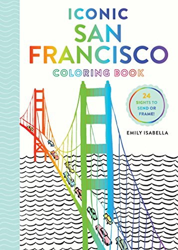 Iconic San Francisco Coloring Book (Iconic Coloring Books) ()