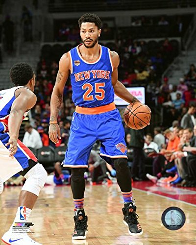 0b7fde769b3 Image Unavailable. Image not available for. Color  Derrick Rose New York  Knicks NBA Action Photo 11x14