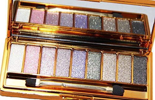 HAPPY CXL Make Up Glitter Eyeshadow Palette 9 Colors Cosmetics Eye Shadow Pallete (# 1)