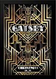 The Great Gatsby 28x36 Large Black Wood Framed Movie Poster Art Print