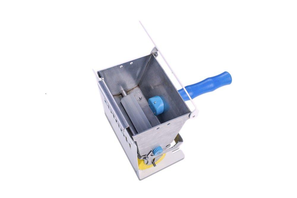 """Hanfas H-920 """"Glu-Man"""" 130 mm Glue Spreader/DIY Adhesive Roller for Carpenter Woodworking/Glue Dispenser Roller for Packaging /Industrial Glue Applicator Roller"""