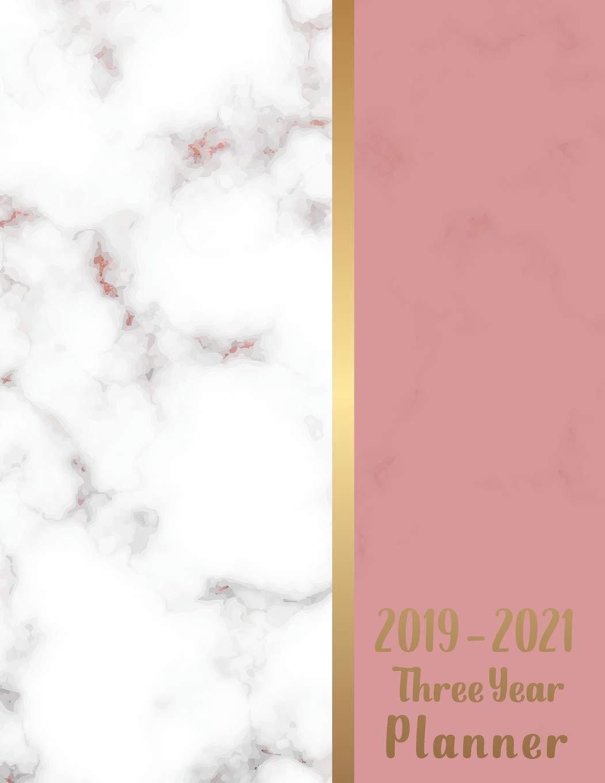 2019-2021 Three year planner: 36 months calendar January ...
