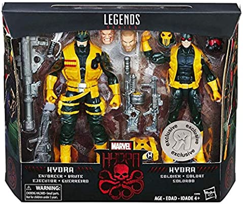Marvel Legends Series 6 Inch Action Figure - Hydra Soldiers 2 Pack ...