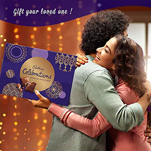Cadbury Celebrations Premium Assorted Chocolate Gift Pack, 281 g 4