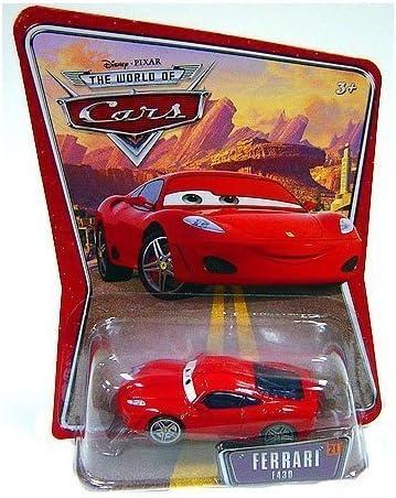 Disney Ferrari F430 Michael Schumacher Pixar World Of Cars Edition Car 1 55 Scale Mattel By Amazon De Spielzeug