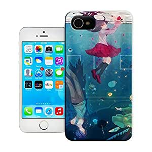 Unique Phone Case Watercolor girl#2 Hard Cover for iPhone 4/4s cases-buythecase