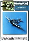 """Aue Verlag 21 x 39 x 7 cm Junkers F 13"""" Model Kit"""
