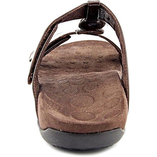 Chocolate Strap Triple Sandals Albany Orthaheel wEq4nIxOq