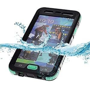 VicTec Waterproof Case Cover For Samsung Galaxy S5 I9600 Shock-Absorbing Pumber Dirtproof Snowproof Black