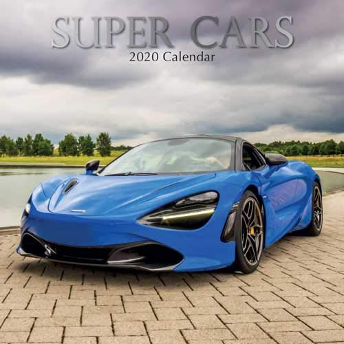 Best Selling Cars 2020.Super Cars 2020 Square Wall Calendar 9781789782684 Amazon
