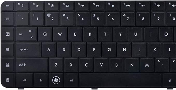 Compaq Presario CQ62-220SB Keyboards4Laptops US Layout Black Laptop Keyboard for Compaq Presario CQ62-220SA Compaq Presario CQ62-220SI Compaq Presario CQ62-220SL Compaq Presario CQ62-220SE