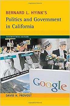 Politics and Government in California (Politics and Government in California)