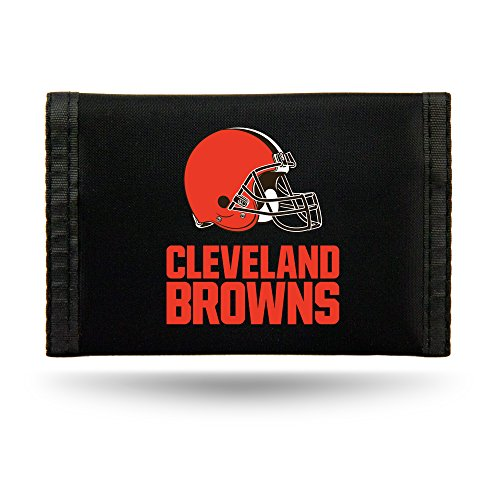 Rico Industries NFL Cleveland Browns Nylon Trifold Wallet