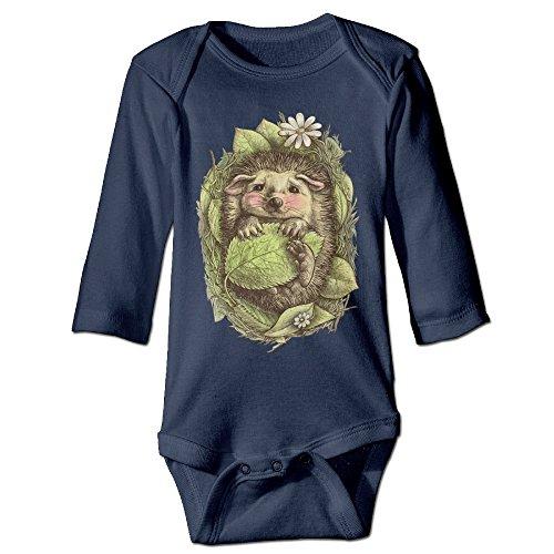 Price comparison product image Funny Vintage Unisex Little Hedgehog Climb Sleepwear Clothes Trottie