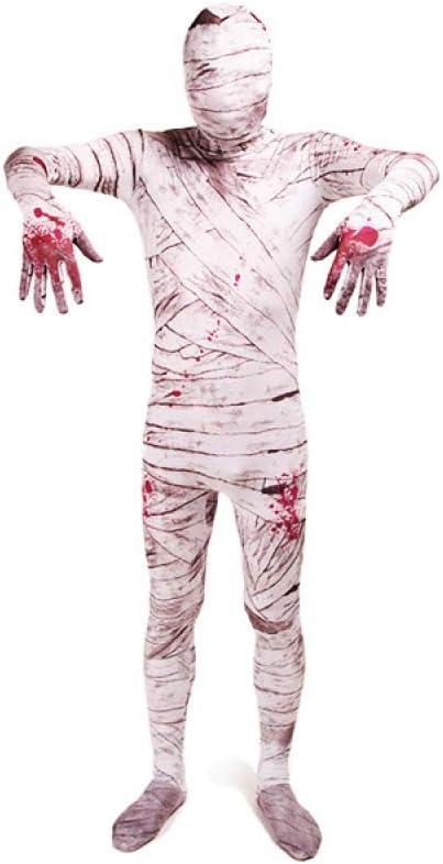 BLOIBFS Halloween El Horror Disfraz Adulto, Lycra Momia del Horror ...