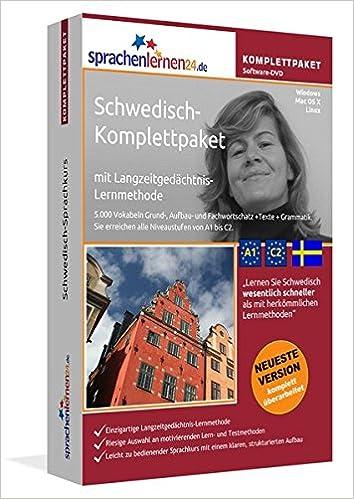 Book Sprachenlernen24.de Schwedisch-Komplettpaket (Sprachkurs)