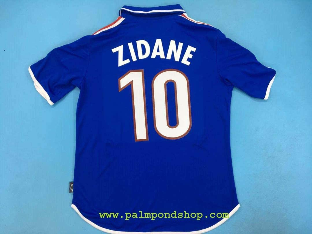 FM Zinedine Zidane France Home Retro Jersey 2000