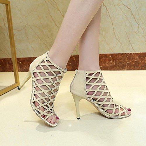 38 Femmes Talons Chaussures Hauts 5 Rivet Toe Lolittas Peep Romain Gladiateur Sandales Des aPnfCUqUZ