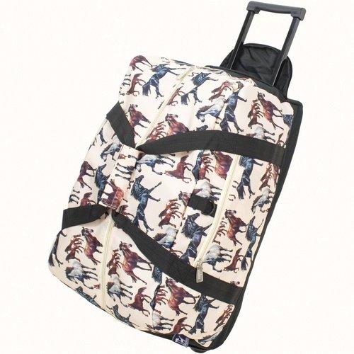 Wildkin Horse Dreams Rolling Duffel Bag (Horse Kids Duffel Bag)