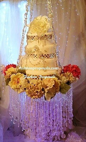 Suspended Wedding Cake Stand Chandelier 24quot Inches Diameter And 18quot