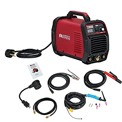 Amico 160 Amp HF TIG Torch/Stick/Arc Welder 115 & 230V Dual Voltage Welding Machine